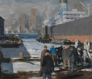 George Bellow Men of the Docks